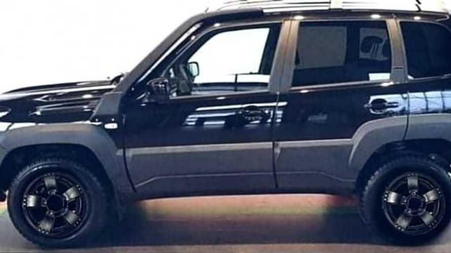 Еще один «чернец»: Lada Niva Travel получит версию Black Еdition