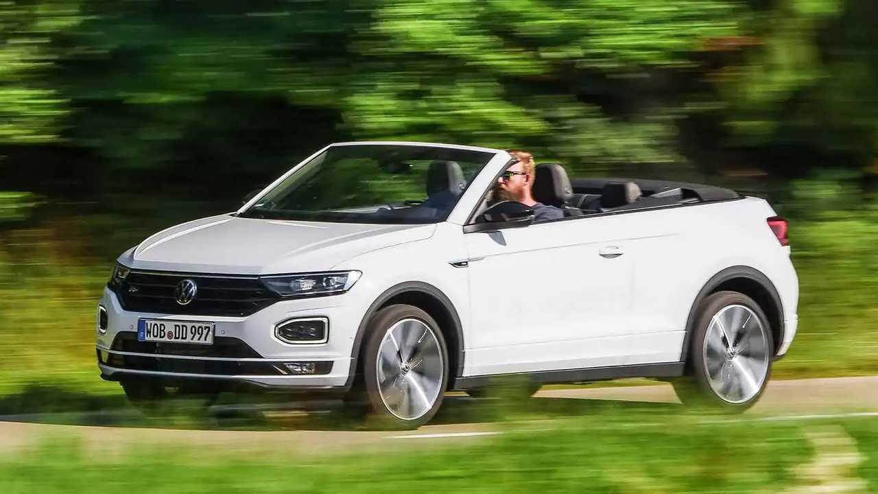 Das VW T-Roc Cabriolet in der Farbe