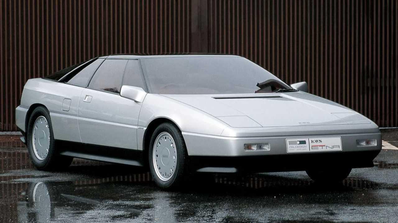 Der 340 PS starke Lotus Etna mit Design von Giugiaro
