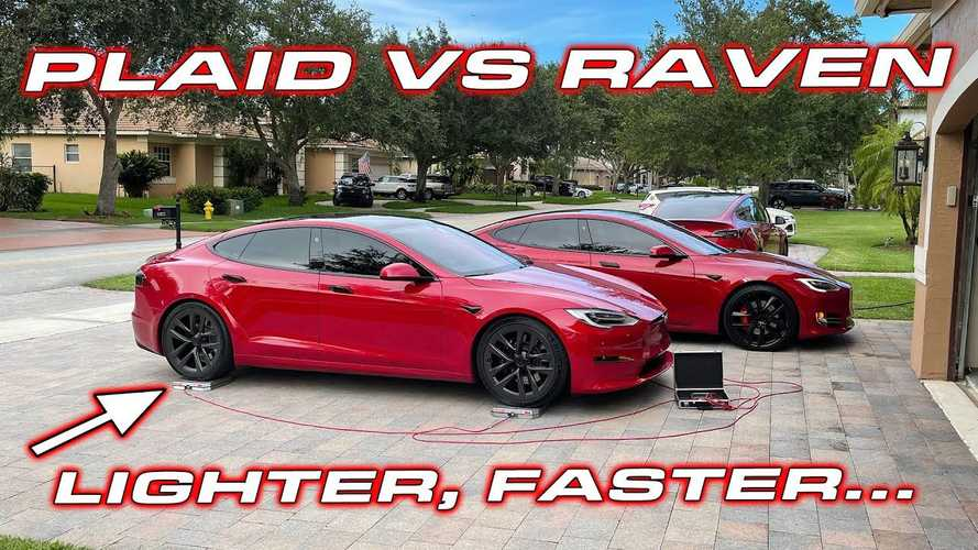 Tesla Model S Plaid Vs Raven: Weighed, Measured And Raced
