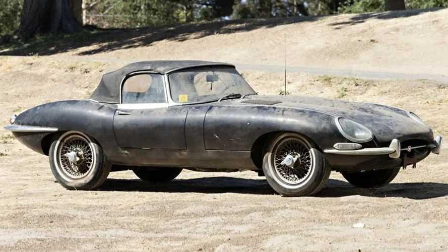 Une Jaguar Type E avec seulement 13 000 kilomètres à vendre