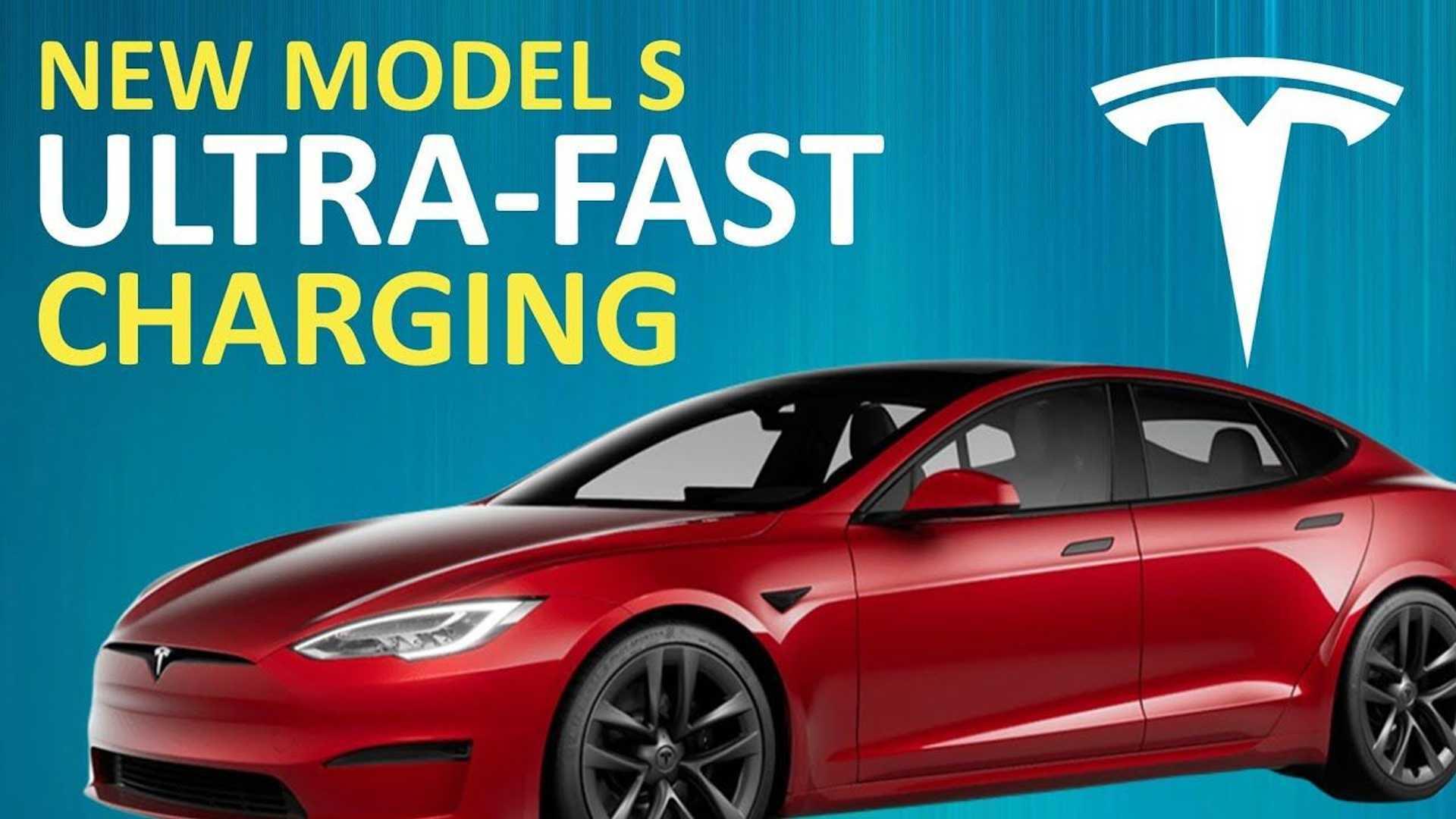 Tesla Model S Plaid Charging At 936 MPH: Can Rivals Beat It?