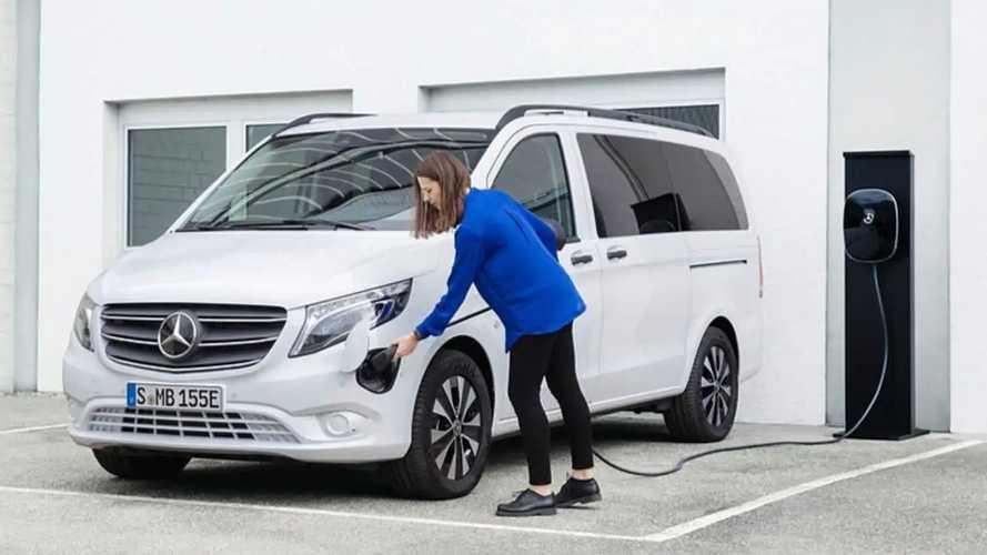 Mercedes eVito Tourer und EQV 250 jetzt auch mit 60-kWh-Akku
