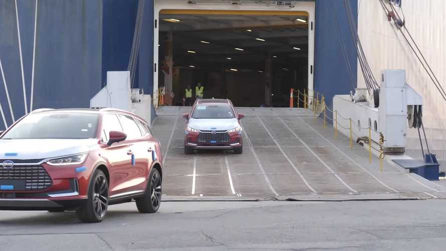 Watch The First 100 BYD Tang SUVs Arrive In Norway