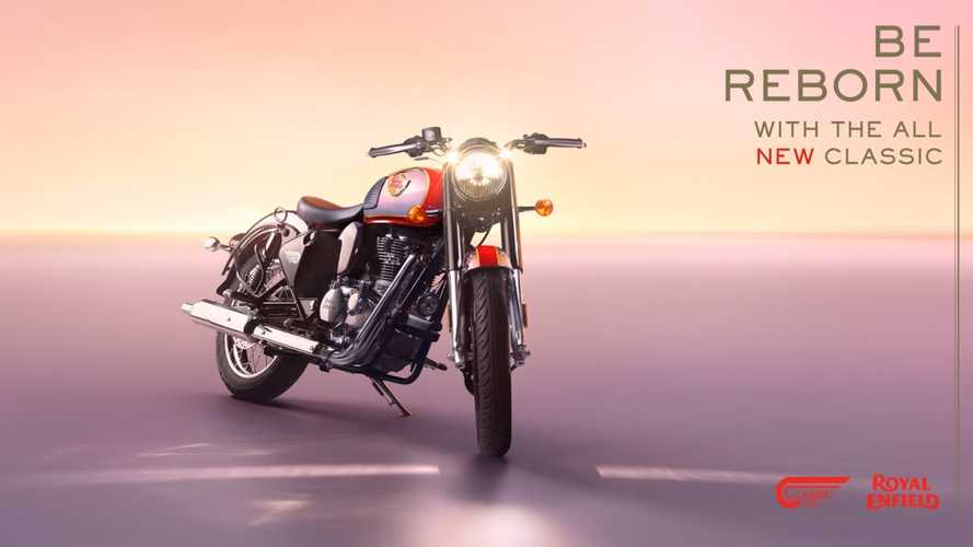 Royal Enfield Launches A New Era With The 2022 Classic 350