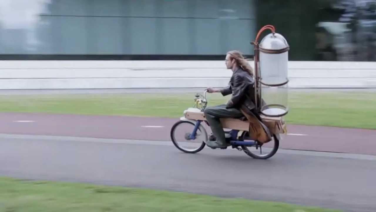 Gijs Schalkx Methane Honda Moped