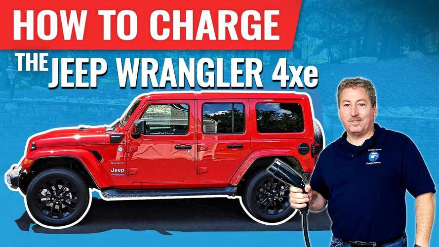 Everything You Need To Know About Charging The Jeep Wrangler 4xe