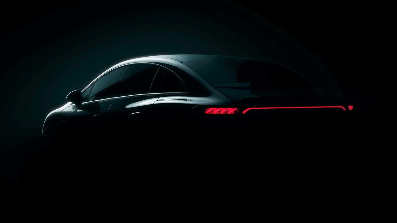 Mercedes-Benz EQE Teaser Exterior