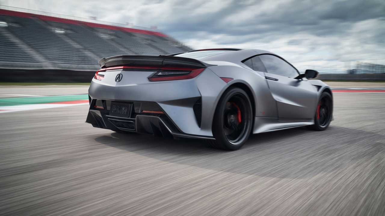 2022 Acura NSX Type S Tail On Track