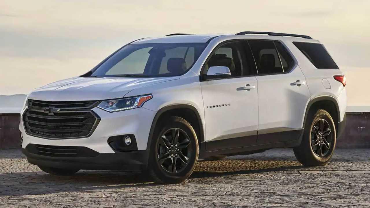 2022 Chevrolet Traverse losing base trim