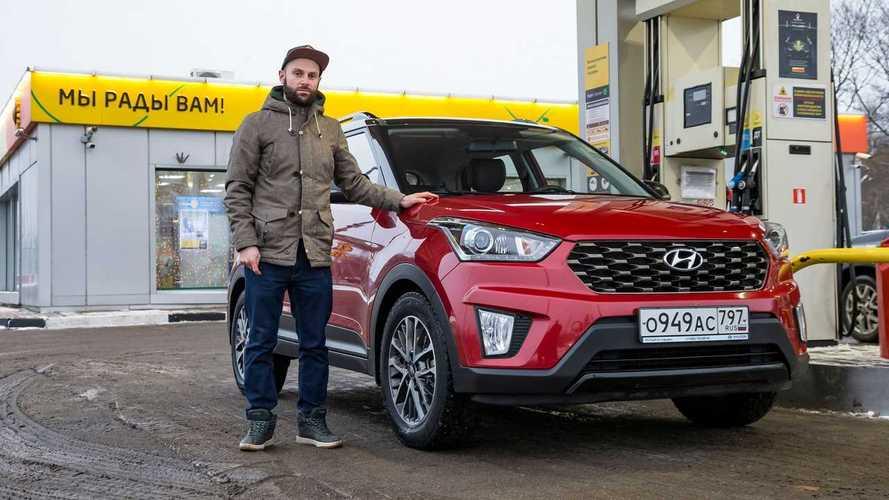 Hyundai Creta – тест на реальный расход топлива