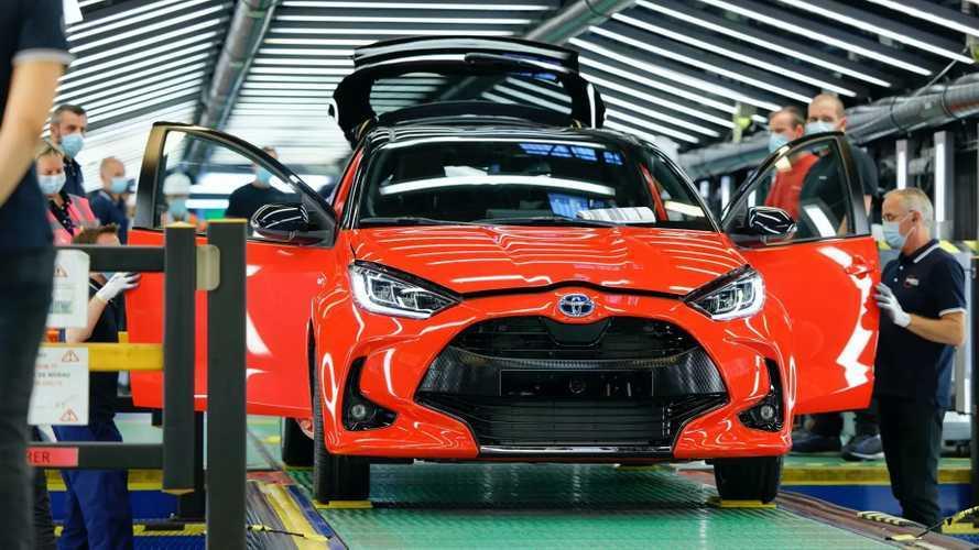 Toyota, İngiltere ve Fransa'da üretimi durdurdu
