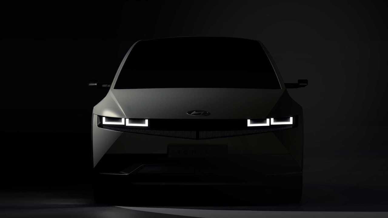 2021 Hyundai Ioniq 5 Yeni Teaser (İpucu) Görüntüleri