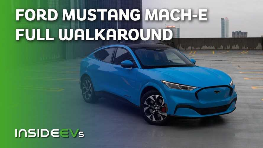 Ford Mustang Mach-E: InsideEVs Gets Quality Time With The Electric Pony