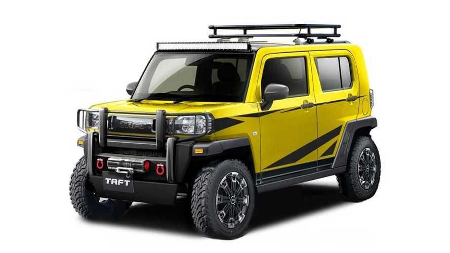Daihatsu presenta 5 adorables prototipos para el Tokyo Auto Salon