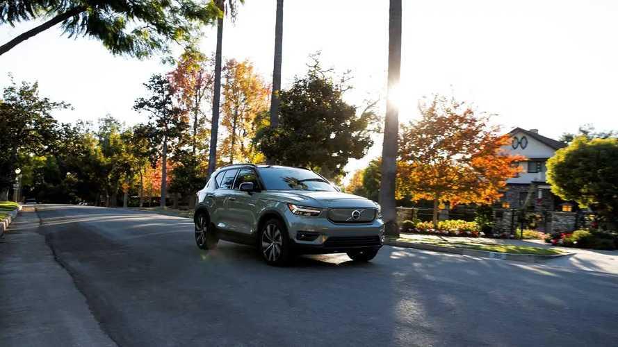 2021 Volvo XC40 Recharge Media Drive