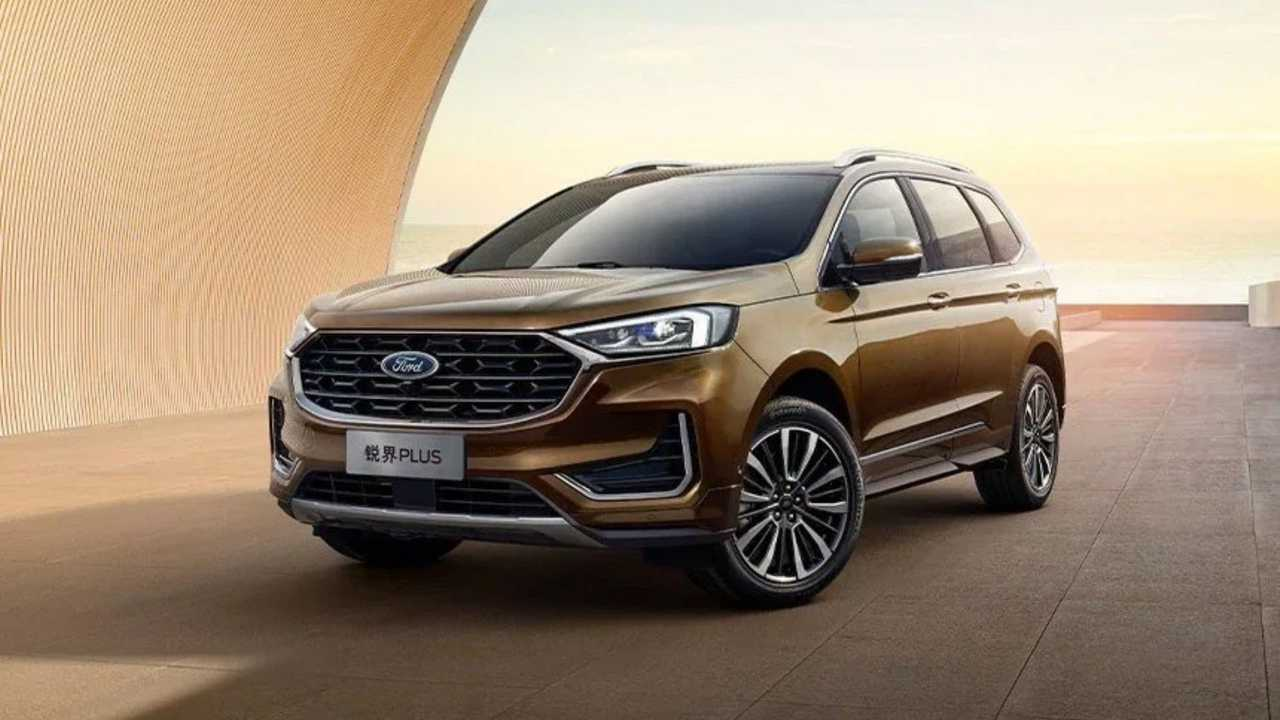 Ford Edge Plus 2021 - China