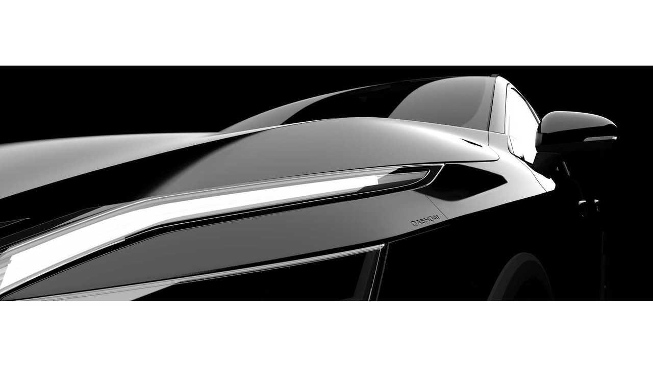Тизерное изображение нового Nissan Qashqai