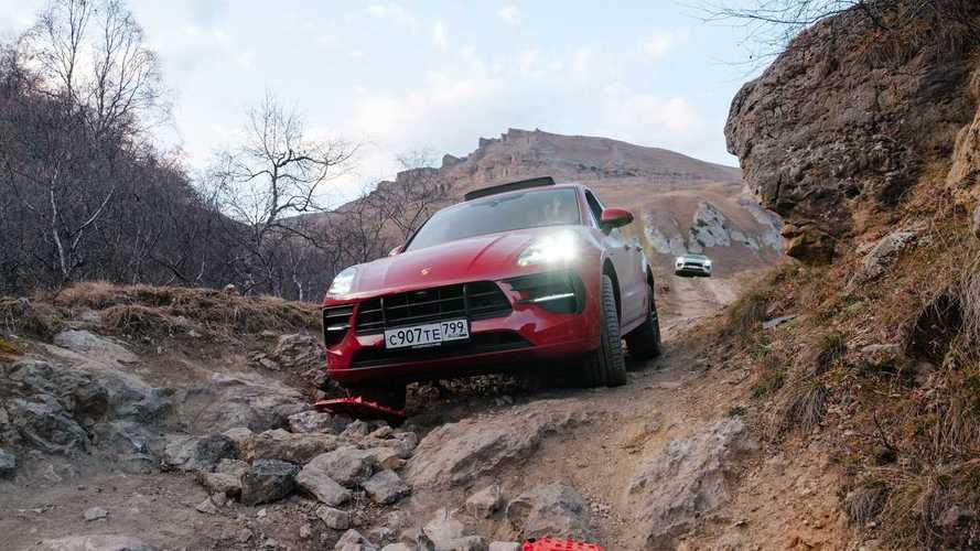 Porsche Macan – внедорожный тест