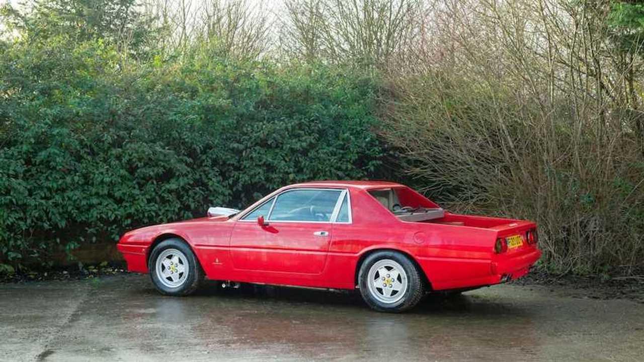 Ferrari F412 Pickup Was Maranello S Truck Nearly 40 Years Before Purosangue