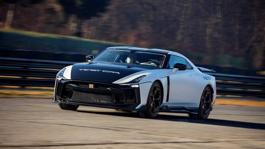 Nissan GT-R 50 by Italdesign Test Car