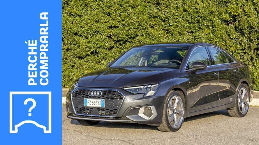 Audi A3 Sedan (2020), perché comprarla e perché no
