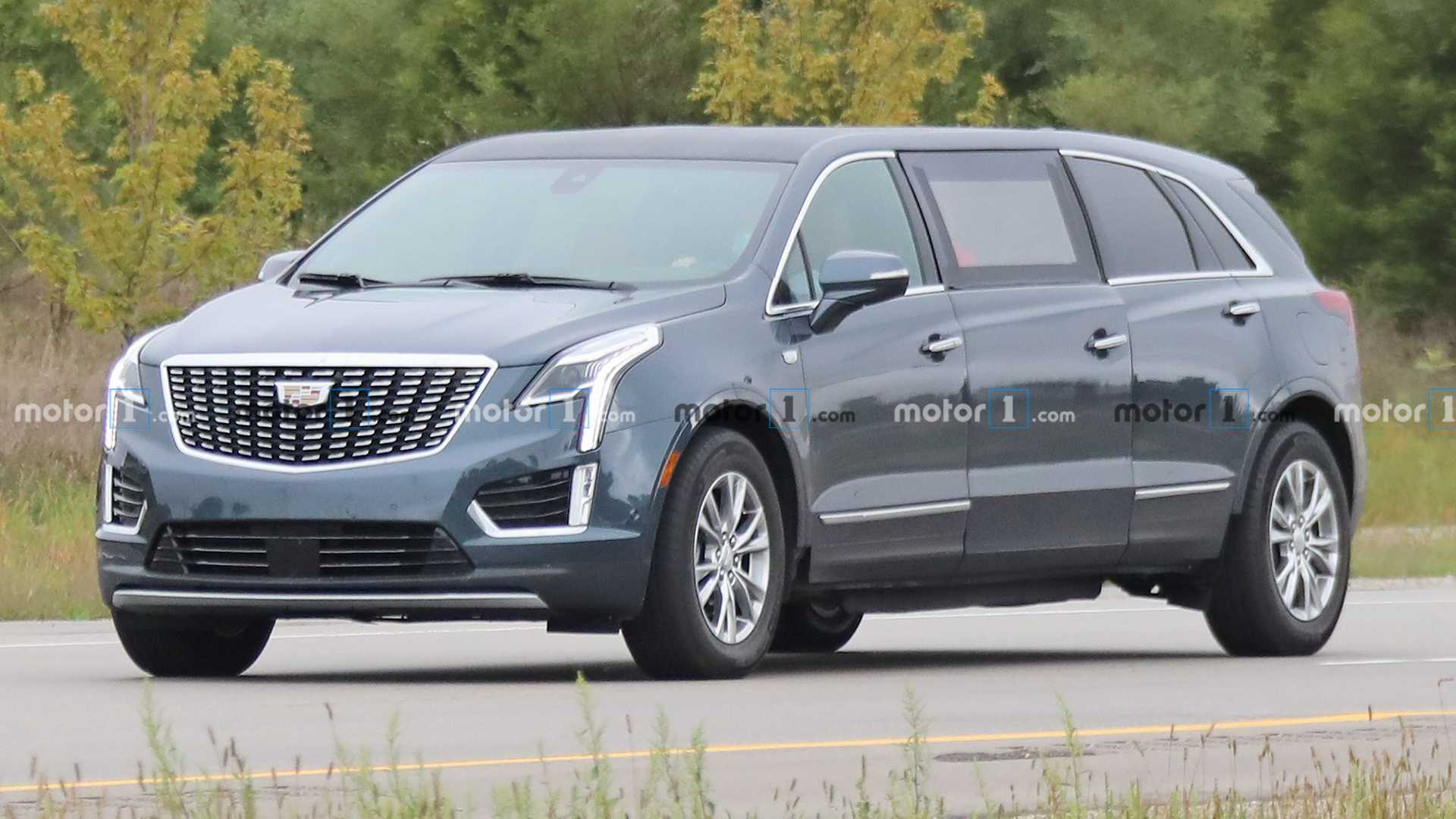 That Cadillac XT4 Limo Was Actually A Hearse In Disguise