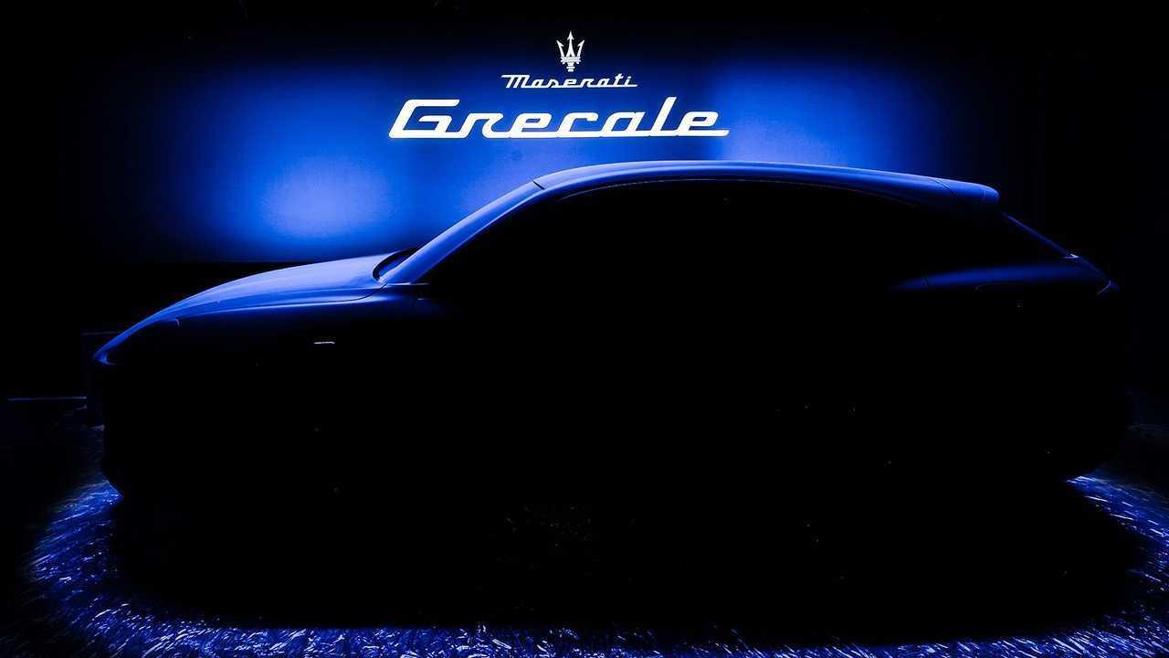 Maserati Grecale - teaser