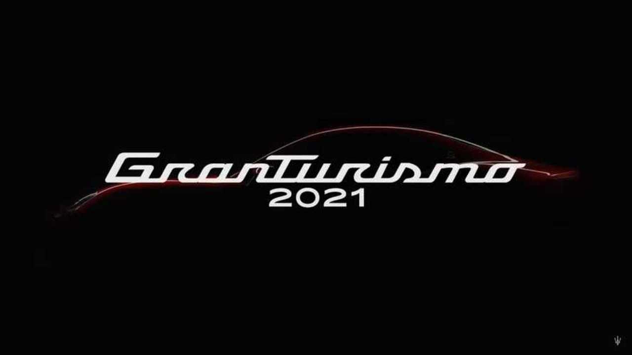 2021 Maserati GranTurismo teaser
