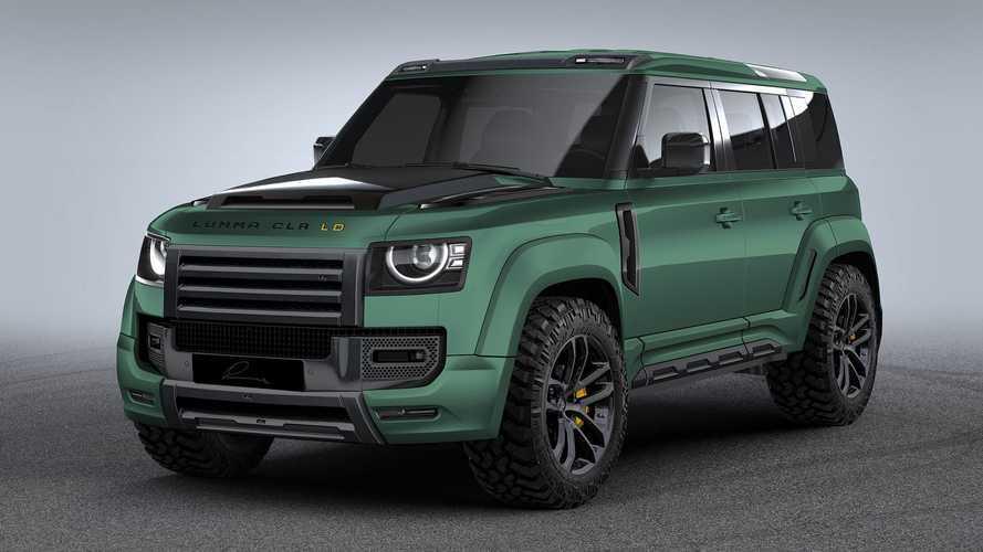 Land Rover Defender, con Lumma Design è ancora più esagerato