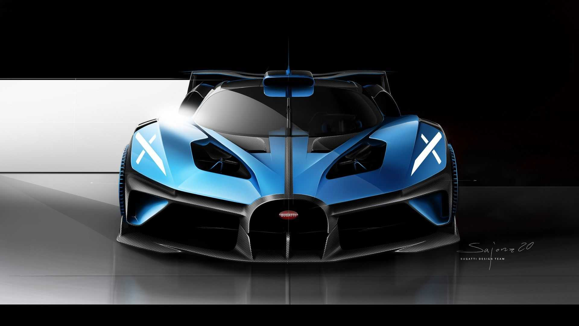 Bugatti Bolide Revealed With 1 825 Hp And 311 Mph Top Speed