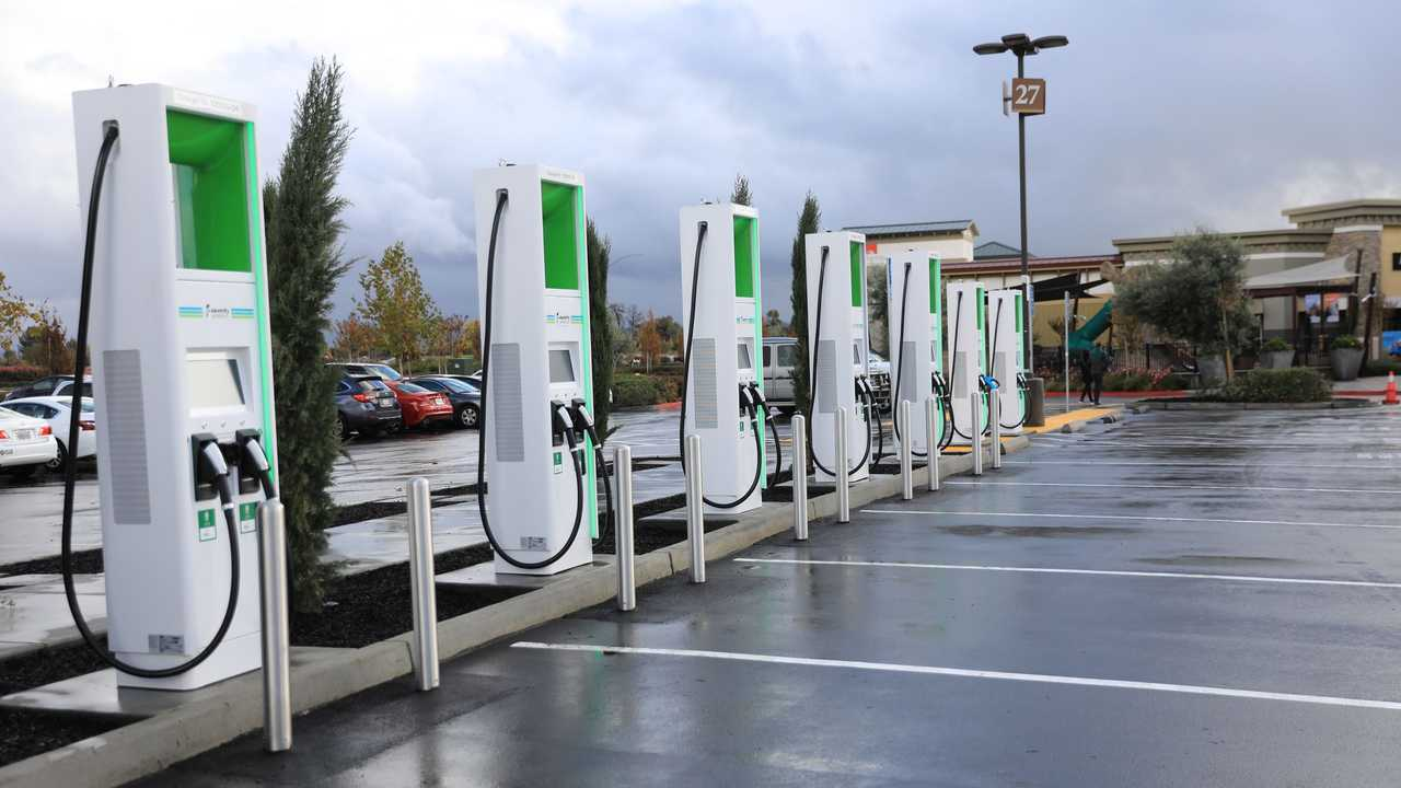 Electrify America charging infrastructure