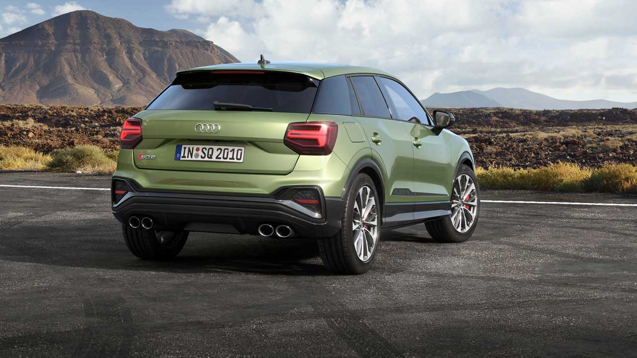 2021 Audi SQ2 lifting