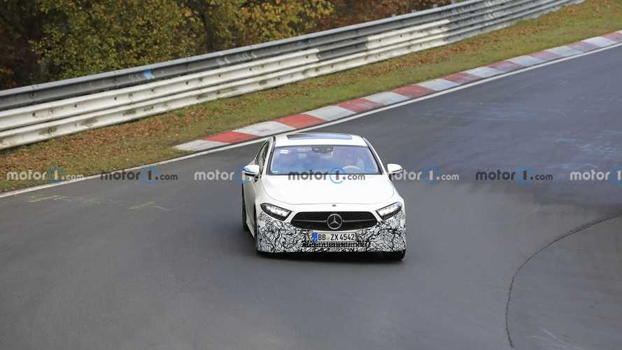 2022 Mercedes CLS facelift spy photos (not confirmed)