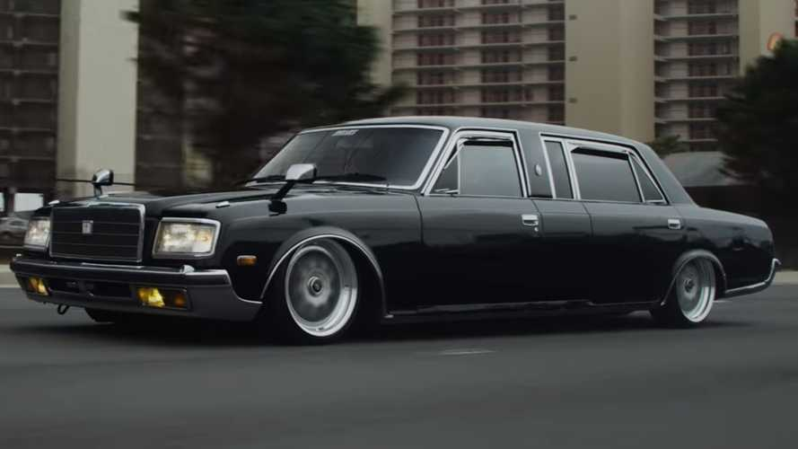 Rare Toyota Century Long Wheelbase Riding Low Looks All Mobbed Up