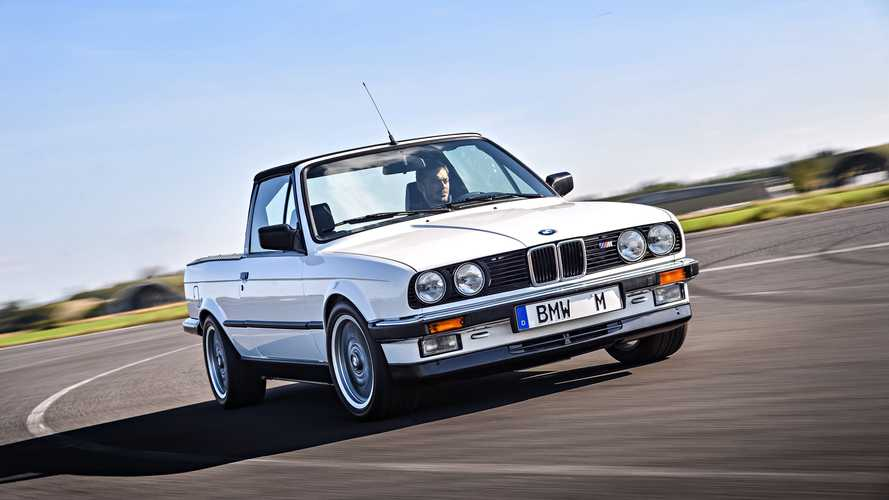 Prototipos olvidados: BMW M3 Pick-up (1986)