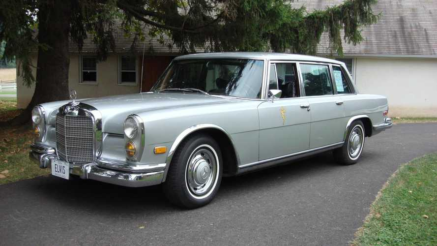 Ex–Elvis Presley 1969 Mercedes-Benz 600 For Sale
