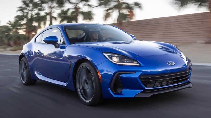 First Look: 2022 Subaru BRZ Revealed With New Design, More Power
