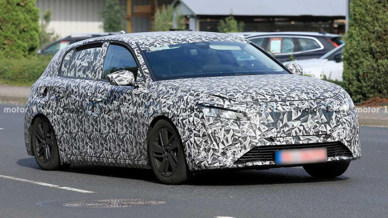 Peugeot 308 2021, primeras fotos espía