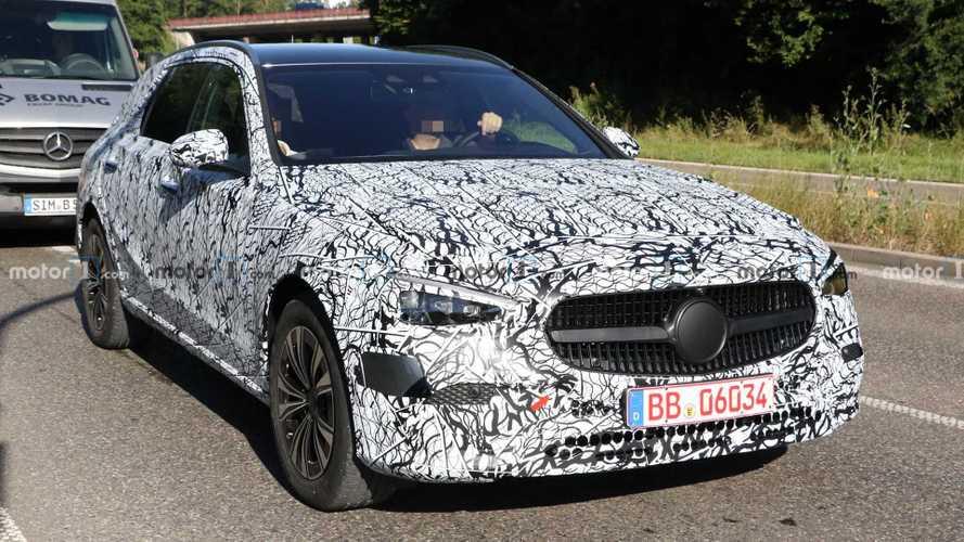 Mercedes C-Class Spy Photos Hint At High-Riding All-Terrain Model