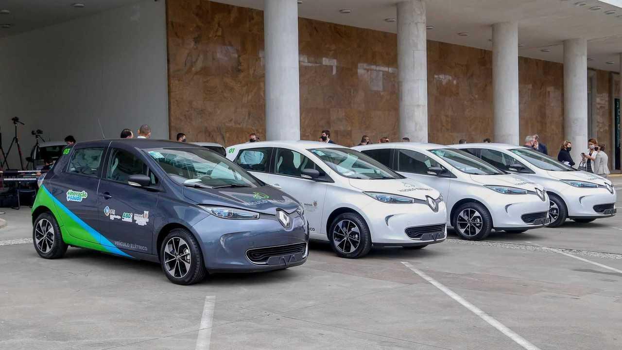 Renault Zoe - Governo do Parana
