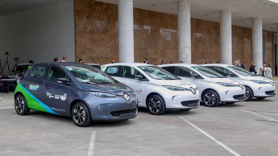 Renault Zoe: carro elétrico passa a integrar frota do Governo do Paraná