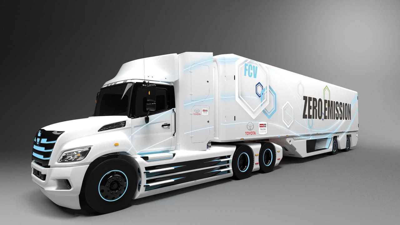 Brennstoffzellen-LKW von Toyota
