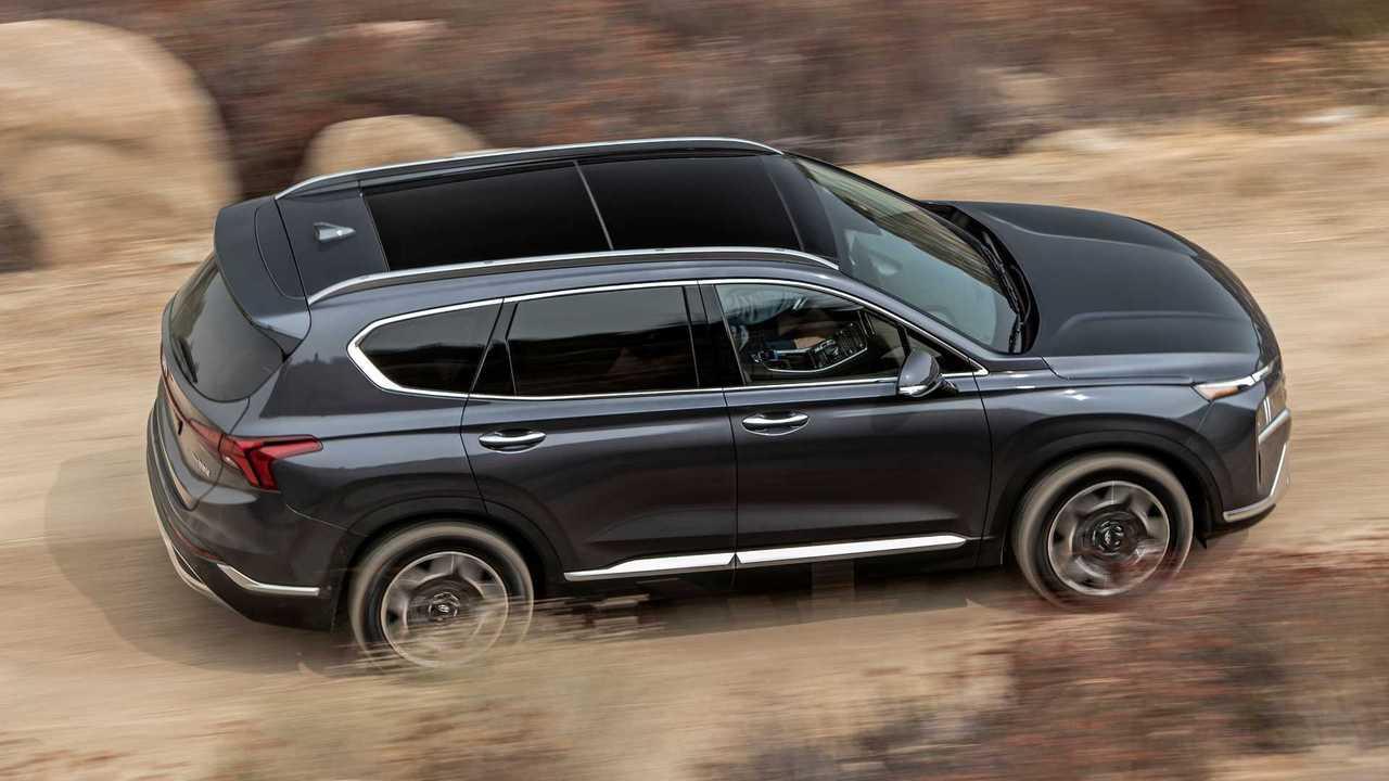 2021 Hyundai Santa Fe lease deals