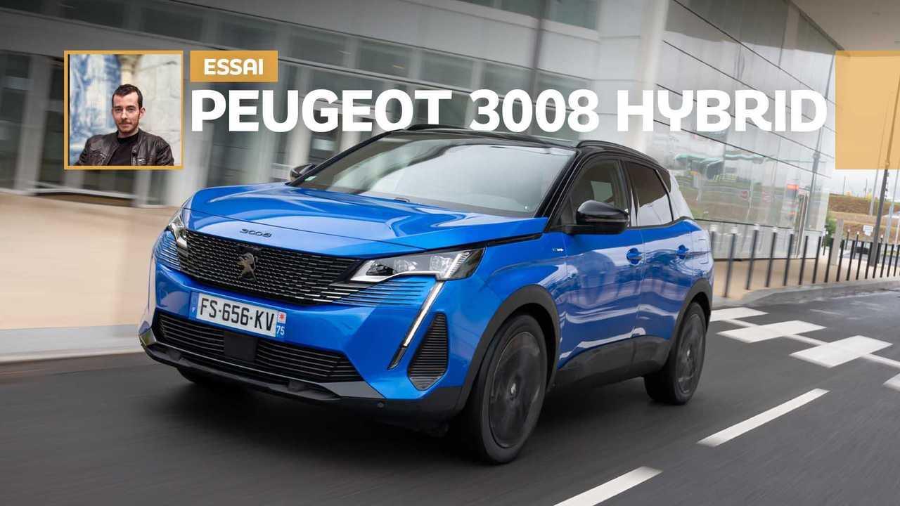 Essai Peugeot 3008 HYbrid (2020)