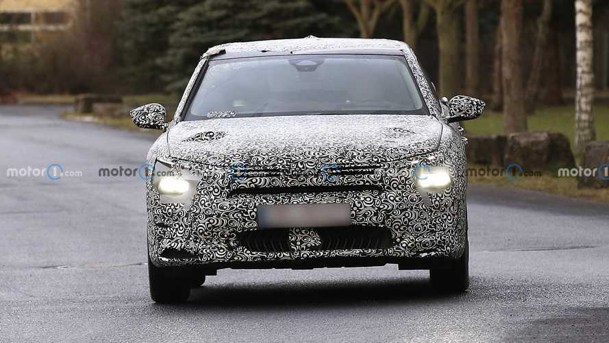 2021 Citroen C5 first spy photos