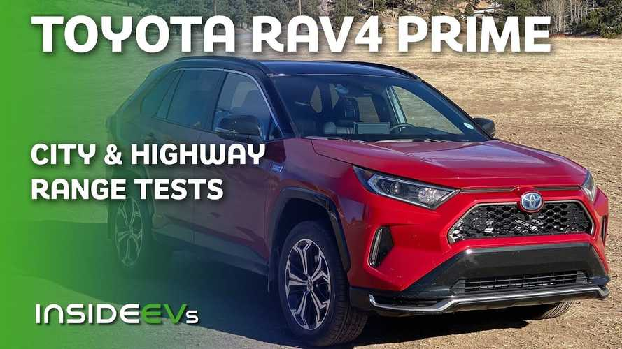 Toyota RAV4 Prime City Loop And Highway 70 MPH Range Tests