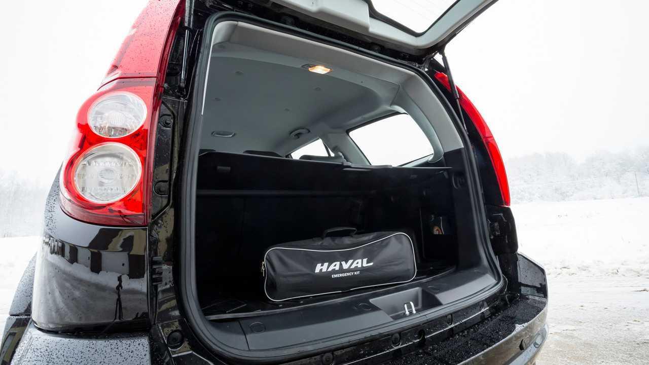 Haval H5 – багажник