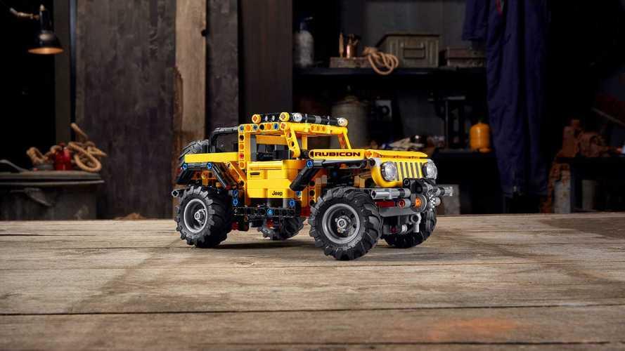 Lego, Jeep Wrangler Rubicon setini tanıttı