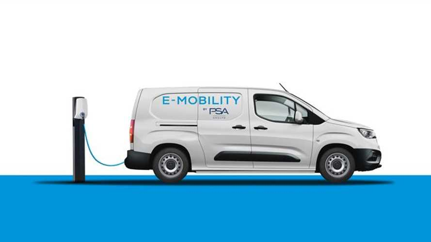 Peugeot  e-208 поделится батареей и мотором с легкими фургонами